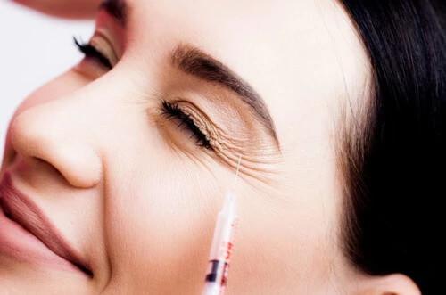 Zabieg z wykorzystaniem botoksu